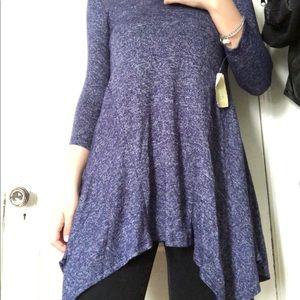 A long purple tunic
